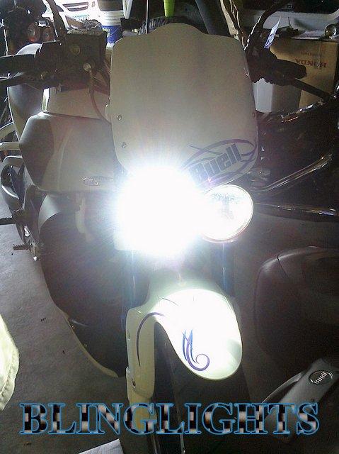Buell Lightning XB12SX Xenon 55 Watt HID Conversion Kit for Headlamps Headlights Head Lamps Lights