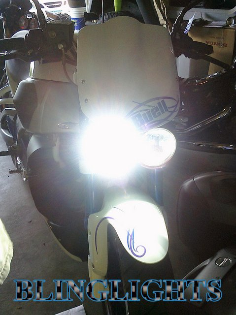 Buell Lightning Long XB12Ss Xenon 55watt HID Conversion Kit for Headlamps Headlights Head Lamps