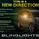 Subaru Traviq LED Side Mirrors Turnsignals Lights Accent Turn Signals Lamps Signalers