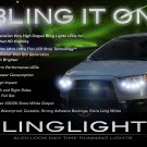 Mitsubishi Colt LED DRL Light Strips Headlamps Headlights Day Time Running Lamps