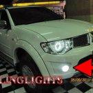 2009 2010 2011 Mitsubishi Triton Xenon Fog Lamps Driving Lights Foglamps Foglights Kit