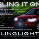 Mazda CX-5 LED DRL Light Strips for Headlamps Headlights Head Lamps Day Time Running Strip Lights