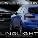Renault Mégane Tinted Smoked Tail Lamps Lights Overlays Film Taillamps Taillights Protection