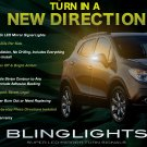 Opel Mokka LED Side Mirror Turnsignal Lamps Turn Signals Lights Mirrors Signalers Set