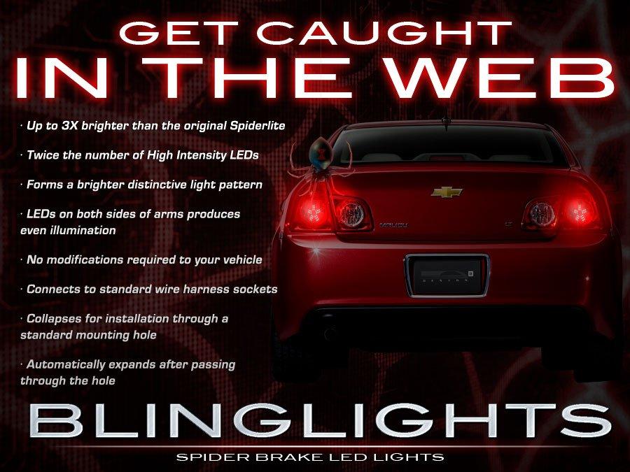 Chevrolet Chevy Malibu LED Tail Lamp Custom Light Bulbs Set
