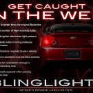 Chevrolet Chevy Malibu LED Tail Lamp Custom Light Bulbs Set