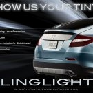 Honda Crosstour Tinted Smoked Tail Lamps Lights Overlays Film Protection