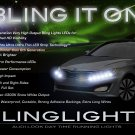 Kia Optima LED DRL Lights Strips Day Time Running Lamps K5 Head Lamps Lights DRLs