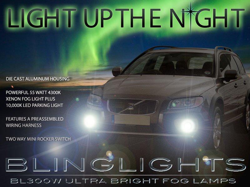 2007-2014 Volvo XC70 Xenon Fog Lamps Driving Lights Kit