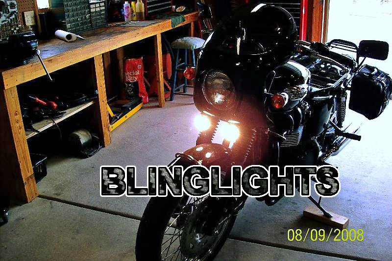 Triumph Bonneville Xenon Driving Lights Fog Lamps Kit Drivinglights Foglamps
