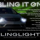 Mercedes R-Class W251 LED DRL Head Lamps Strips Lights Kit