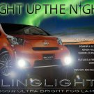 Scion iQ Xenon Fog Lamps Driving Lights Kit 2013 2014 2015 Foglamps Foglights Driving Lights