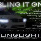 2013 2014 2015 Nissan Altima LED DRL Light Strips Kit Day Time Running Head Lamp Lighting