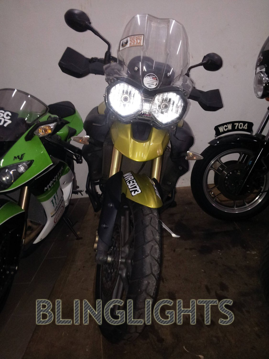 Triumph Tiger Bright White Head Lamps Lights Bulbs Set Upgrade Replacement