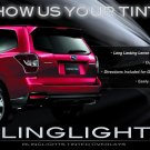 Subaru Forester Tail Lamps Lights Tinted Overlays Kit Smoked Protection Film