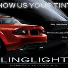 Mazda Miata MX-5 Taillamps Taillights Tinted Overlays Smoked Protection Film Kit