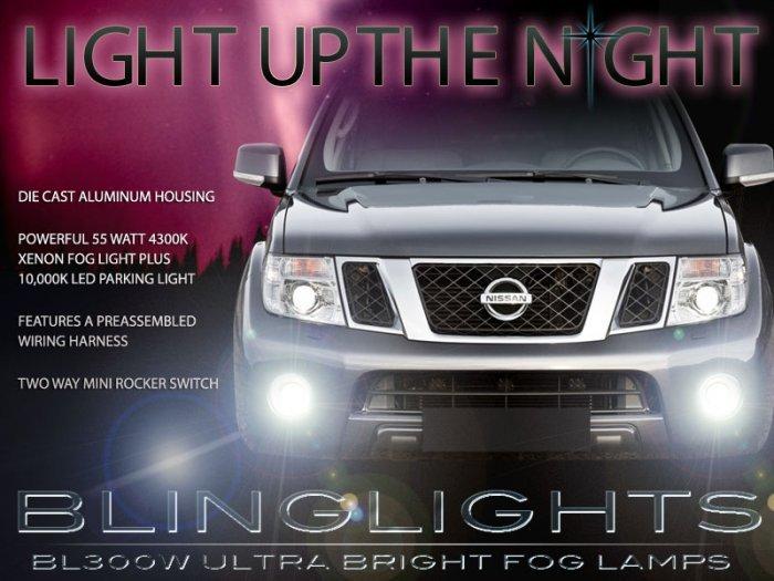 Nissan Terrano R51 Xenon Fog Lamps Driving Lights Kit Foglamps Drivinglights Foglights