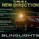 Nissan Terrano LED Side Mirror Turn Signal Lights Lamps Turnsignalers Set Kit