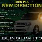 Nissan Cube LED Side Mirrors Turn Signal Light Lamp Kit Turnsignals