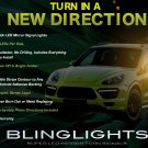 Porsche Cayenne LED Side Mirrors Turnsignals Light Lamp Kit Turn Signalers