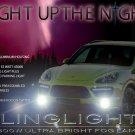 2011 2012 2013 2014 Porsche Cayenne Fog Lamps Light Kit 958 LED Foglamps Foglights Drivinglights