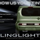 Nissan Cube Tinted Tail Lamp Light Smoked Overlays Film Protection Kit
