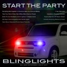 Nissan Cube Head Lamps Strobe Lights Kit