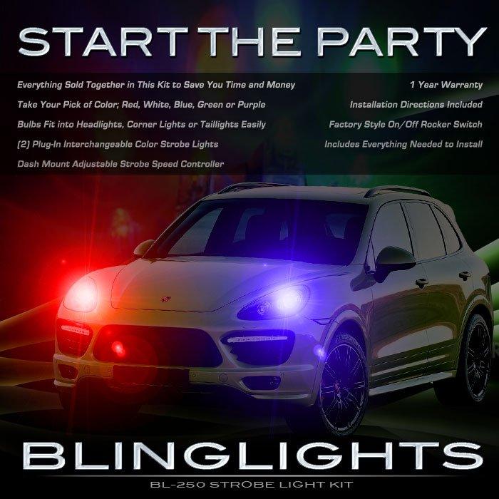 Porsche Cayenne Head Lamps Strobe Lights Kit