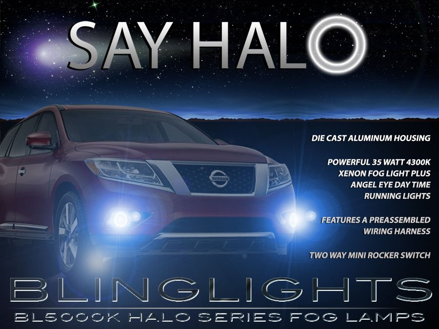 2013-2016 Nissan Pathfinder Angel Eye Fog Lamp Lamp Kit R52