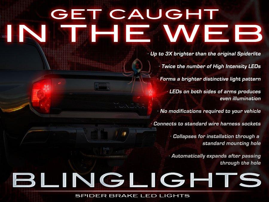 Toyota Tundra Custom Tail Lamp LED Light Bulbs Pair Kit Taillamps Taillights
