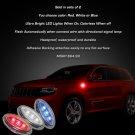 Jeep Grand Cherokee LED Flush Mount Turn Signal Lights Kit Signaler Blinker Lamps