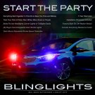 KIA Forte Koup Sedan Head Lamps Strobe Light Kit