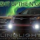 2014 2015 2016 Toyota Highlander Xenon Fog Lamps Driving Lights XU50 Kit