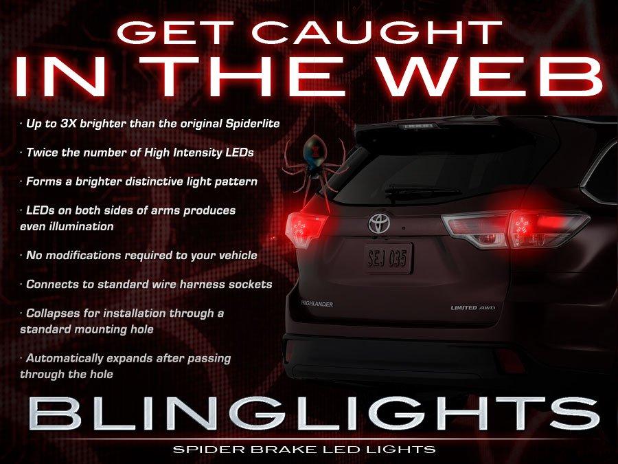 Toyota Kluger Custom LED Tail Lamps Light Bulbs Pair