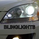 Mercedes ML LED DRL Head Light Strips W163 W164 M-Class Day Time Running Lamps Kit