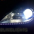 Mercedes SLK R171 LED DRL Head Lights Strips Day Time Running Lamps Kit