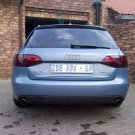 Audi A4 Tinted Smoked Protection Overlays for Taillamps Taillights Tail Lamps Lights