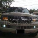 07-15 Lincoln Navigator Halo Fog Lamp Driving Light Kit Angel Eyes