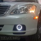 Mercedes S-Class w221 AMG Fog Lamp Driving Light Kit Halo Angel Eyes