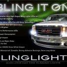 GMC Sierra LED DRL Head Light Strips Kit Day Time Running Lamps