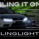 Ford Falcon LED DRL Head Lamp Light Strips Day Time Running Kit