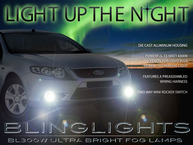 Ford FG Falcon Ute R6 Xenon Fog Lamp Driving Light Kit