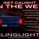 Ford Falcon Custom LED Tail Lamp Light Bulbs Set FG BF AU Ute