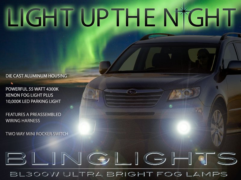 Subaru Tribeca Xenon Fog Lamp Driving Light Kit Foglamps Drivinglights