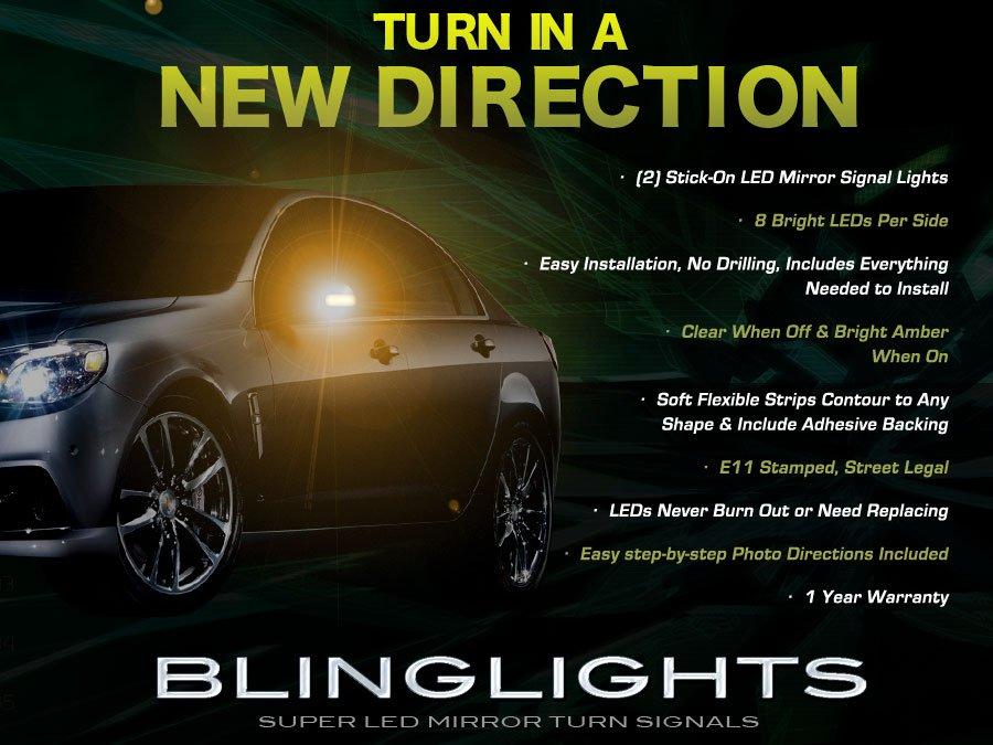 Holden Statesman LED Side Mirror Turnsignal Light Kit Signaler Lamps