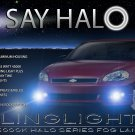 2006 2007 Chevrolet Monte Carlo Halo Angel Eye Fog Lamps Lights Kit