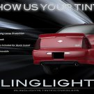 Chevy Monte Carlo Tinted Tail Lamp Light Overlays Kit Smoked Film Protection
