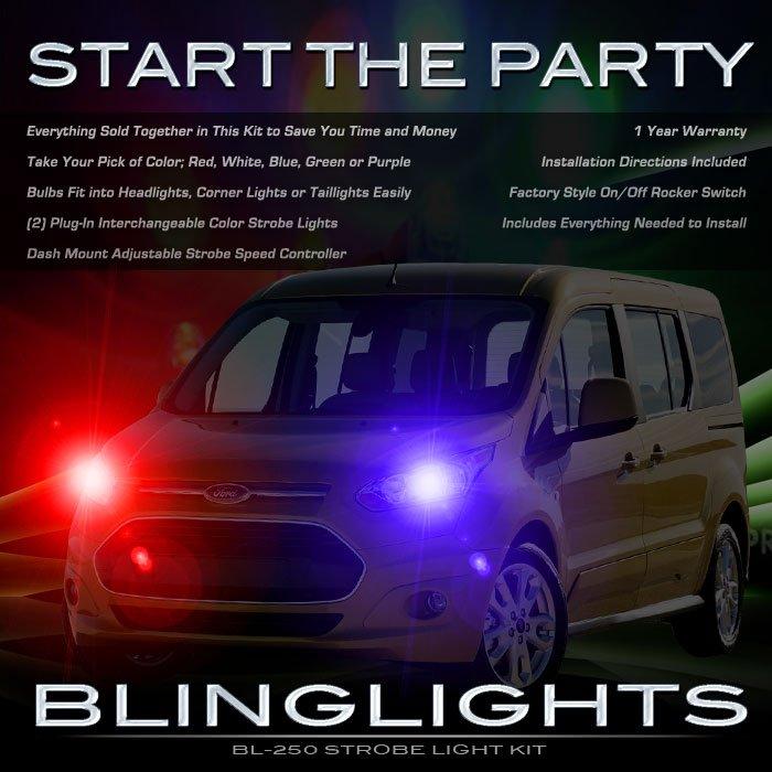Ford Tourneo Custom Police Head Lamps Strobe Light Kit
