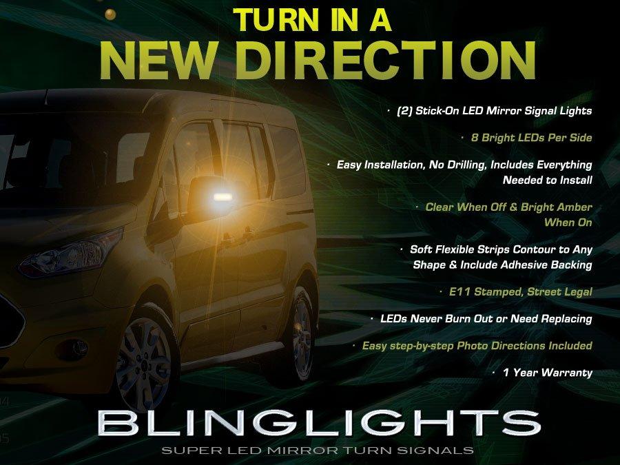 Ford Tourneo Custom LED Side Mirror TurnSignal Light Kit