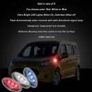 Ford Tourneo LED Flushmount Side Marker Turnsignal Light Kit Lamps